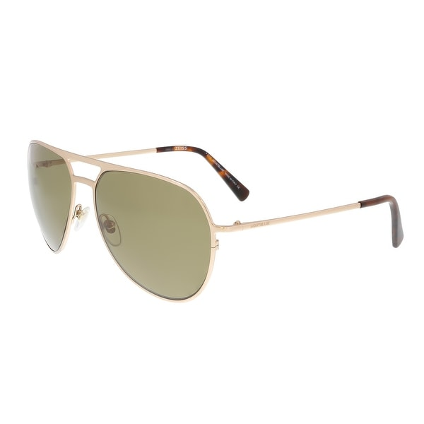 dc25f7a9b72d Shop Montblanc MB546S 28H Gold Aviator Sunglasses - 62-16-140 - Free ...
