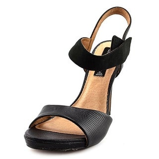 Steve Madden Razle Open Toe Leather Sandals
