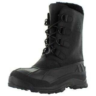 Kamik Alborg Men's Cold Weather Snow Boots Duck Toe