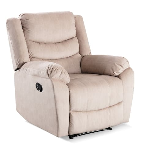 Breathable Bonded Leather Classic Recliner