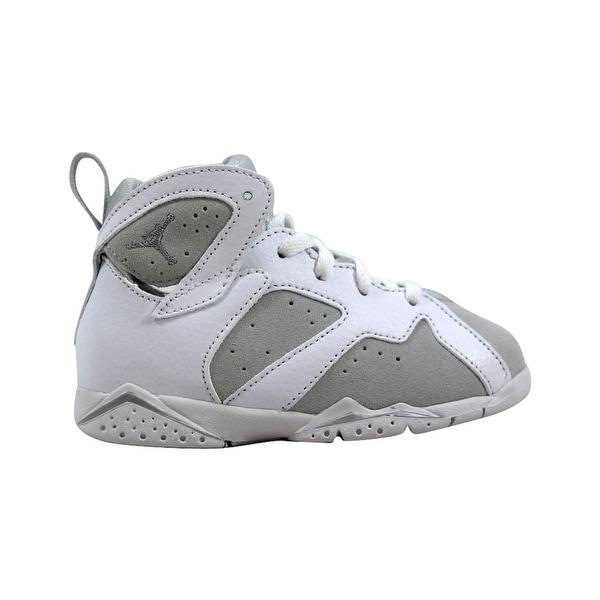 6c072e1a337 Nike Air Jordan VII 7 Retro BT White/Metallic Silver Pure Money 304772-120