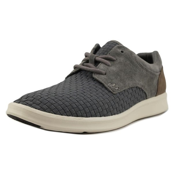 UGG Hepner Men Leather Gray Fashion Sneakers