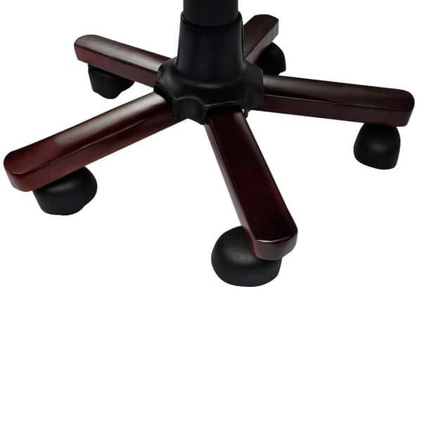 Super Shop Vidaxl Brown Real Leather Chesterfield Captains Swivel Machost Co Dining Chair Design Ideas Machostcouk