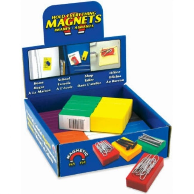 Master Magnetics 07278DSP Hold Everything Magnet Counter Display, 8 Colors
