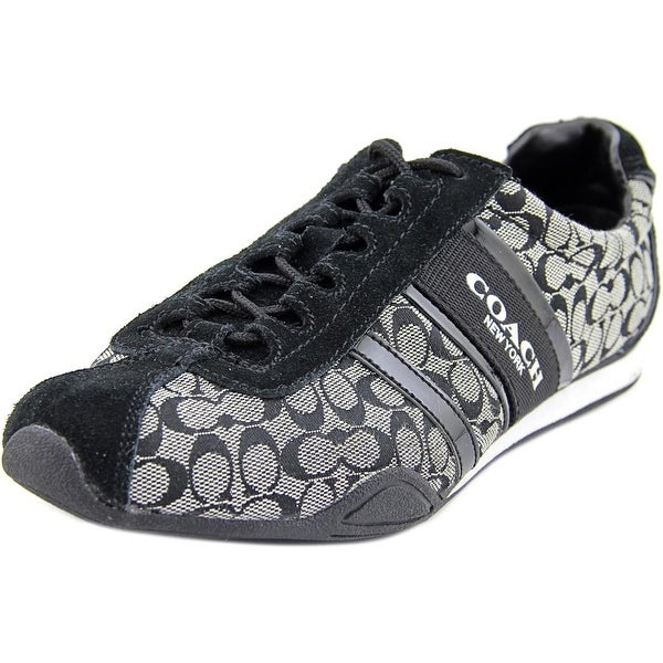 Coach Remonna Women Canvas Black Fashion Sneakers