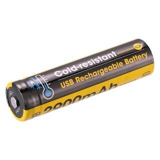 NITECORE NL1829RLTP 18650 Low Temperature USB Rechargeable Battery