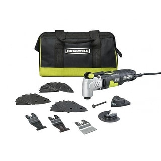 Rockwell RK5142K Sonicrafter F50 Oscillating Multi-Tool, 4.0 Amp, 33-Piece
