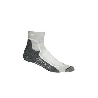 Icebreaker 2014/15 Women's Hike+ Lite Mini Sock - 100326 - blizzard heather/white/oil