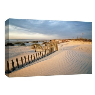 "PTM Images 9-148264  PTM Canvas Collection 8"" x 10"" - ""Huntington Horizon"" Giclee Beaches Art Print on Canvas"