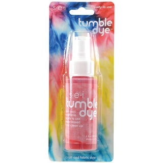 Tumble Dye Craft & Fabric Spray 2oz-Red - Red