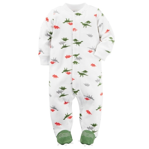 Shop Carter S Baby Boys Microfleece Snap Up Sleeper