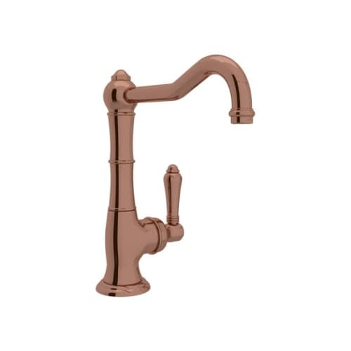 """Rohl A3650/6.5LM-2 Country Kitchen Kitchen Faucet with 6-1/2"""" Spout Reach"""