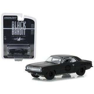 1969 Chevrolet Camaro Z/28 Black Bandit Trans Am Racing Team 'Black Bandit' Series 20 1/64 Diecast Model Car by Greenlight
