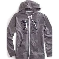 Tin Haul Western Outerwear Mens Hoodie Logo Gray
