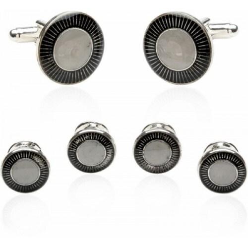 Black Pearl Sterling Set
