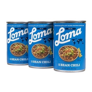 Loma Linda Blue Five Bean Chili (15 oz.) (Pack of 3)