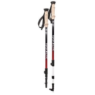 Yukon charlie's trek lite hiking / trekking pole red