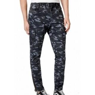American Rag NEW Gray Mens Size 30X30 Cargo Camoflauge Printed Pants