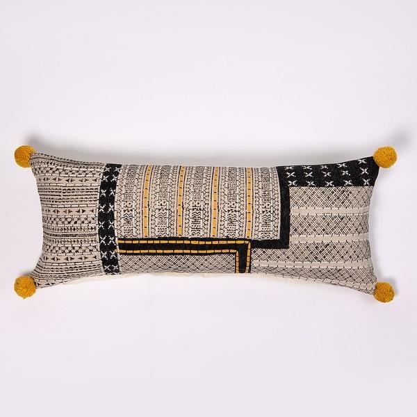 Anbi Extra Long Bolster Pillow. Opens flyout.