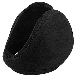 "Unique Bargains Solid Color Fleece 4.1"" Ear Pad Warmer Earmuffs for Men"