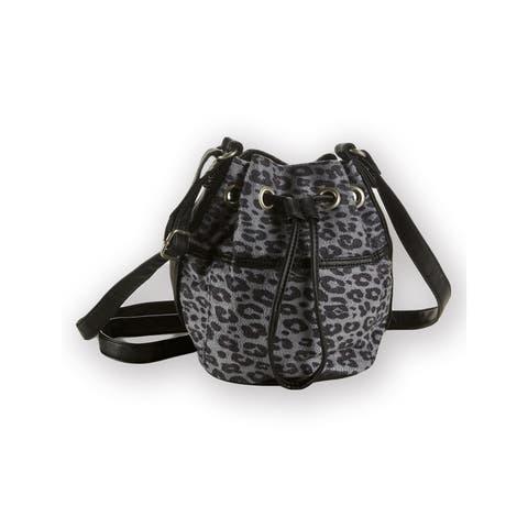 Aeropostale Womens Cinch Strap Shoulder Handbag Purse - Extra Small (16 in. & Under)