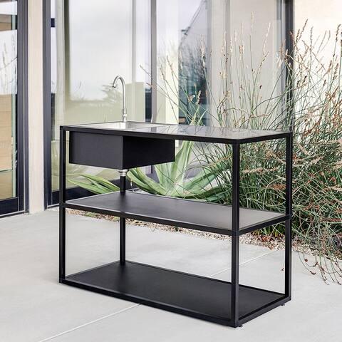Outdoor Kitchen Series Counter Sink - Stainless Steel