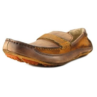 Bed Stu Tejon Pass Men Square Toe Synthetic Brown Loafer