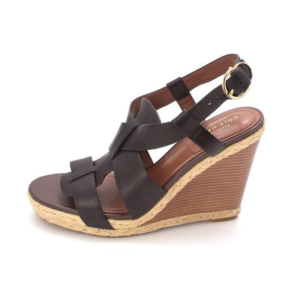 Cole Haan Womens Carolsam Open Toe Special Occasion Platform Sandals