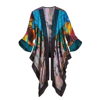 Women's Colorful Lilith Fashion Jacket - Kimono Sleeves