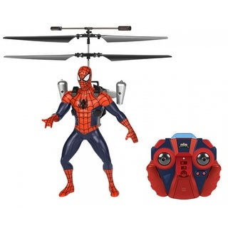 World Tech Toys 34878 Marvel Licensed Jetpack Spider-Man 2CH IR RC Helicopter