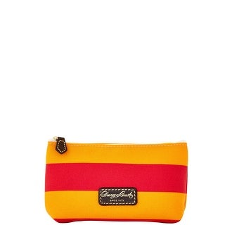 Dooney & Bourke Rugby Cosmetic Case (Introduced by Dooney & Bourke at $48 in Feb 2016) - Orange Red
