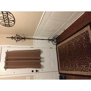 Safavieh Hand Hooked Chelsea Leopard Brown Wool Rug 3 9 X