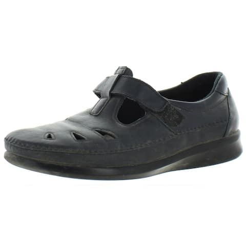 SAS Womens Roamer Casual Shoes Cut-Out Leather