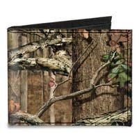Mossy Oak Break Up Infinity Canvas Bi Fold Wallet One Size - One Size Fits most