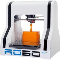 Robo 3D A1-0002-000 R1 Plus 3D Printer - White