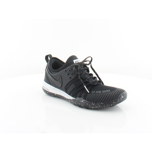 643289585 Shop Nike Free TR 7 Selfie Women s Athletic Black Chrome Black - 6.5 ...