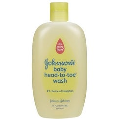 JOHNSON'S Head-to-Toe Baby Wash 15oz.