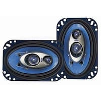 Pyle USA T51730 4 x 6 in. 240W Three-Way Speakers