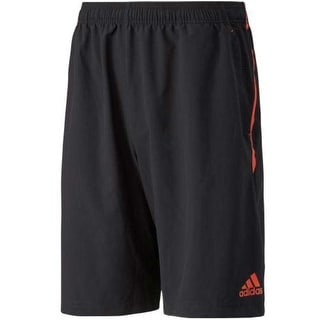 Adidas Mens Ultimate Swat Mesh Inset Contrast Stripe Shorts - M