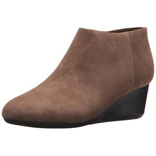 Easy Spirit Womens Leinee Leather Closed Toe Ankle Fashion Boots