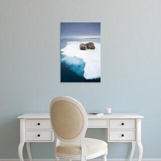 Easy Art Prints Paul Souders's 'Walrus' Premium Canvas Art