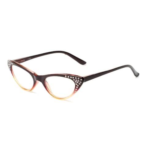 Readers.com The Paulina Cat Eye Reading Glasses