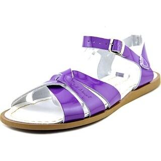 Salt Water The Original Sandal Open-Toe Leather Slingback Sandal