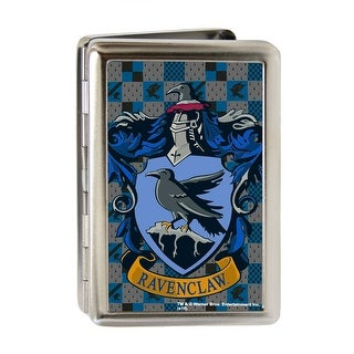 Ravenclaw Crest Fcg Gray Blues Business Card Holder