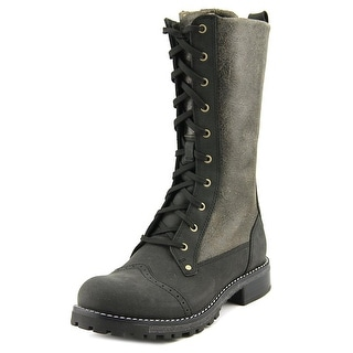 Woolrich Santa Fe Women Round Toe Leather Mid Calf Boot