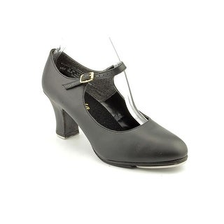 Capezio Manhattan Xtreme Tap Women Round Toe Leather Black Dance
