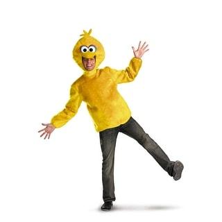 Disguise Big Bird Adult Costume - YELLOW - x-large (42-46)