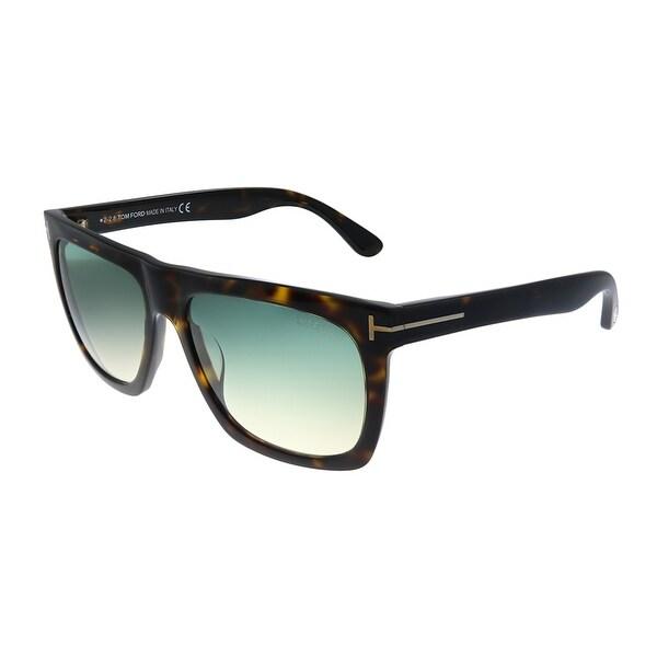 Tom Ford Morgan TF 513 52W Unisex Dark Havana Frame Grey Gradient Lens Sunglasses. Opens flyout.