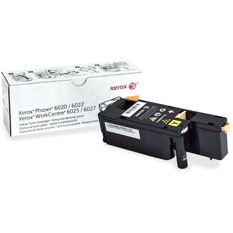 Xerox 106r02758 yellow toner phaser 6022 workcentre 6027