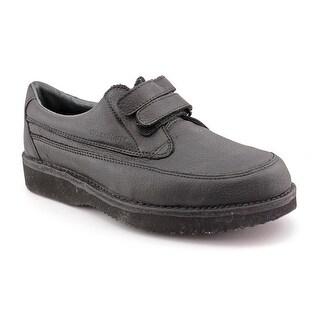 Footonic II Walkabouts Men 3E Round Toe Leather Black Oxford